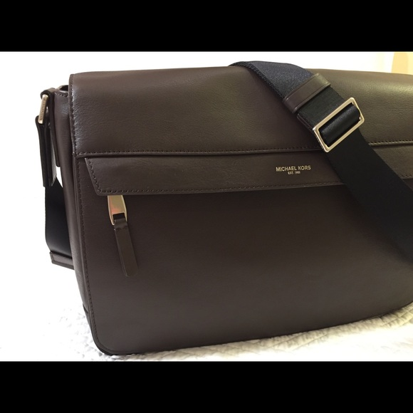 c8d86059fc78 Michael Kors Odin Messenger Bag. M 5b96dea9194dadc594b90b35